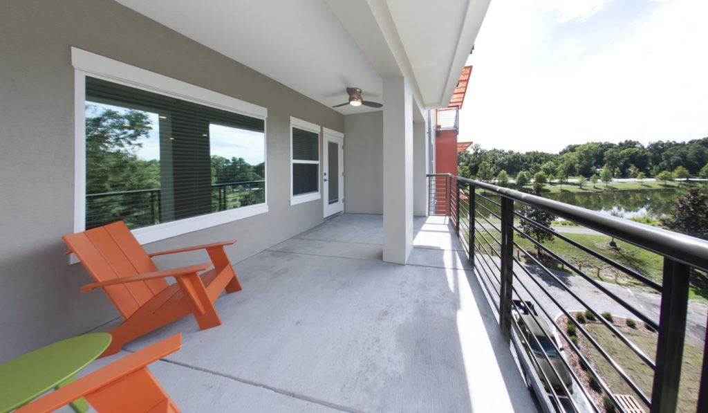 Bigger apartments = bigger balconies. Check out the extra large balcony attached to this 4 bedroom apartment at Savion Park!